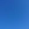 散歩中にスマホで撮った晴天