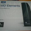 Western Digital 「WD Elements 3TB」購入