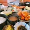 伊良湖観光…灯台茶屋(刺身、焼き物、フライの揃った人気店)