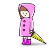 梅雨…抱っこ紐と一緒に使えるレインコートやポンチョ(カッパ)が欲しい…!!!
