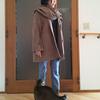 この冬最後にお気に入りのウールを着る