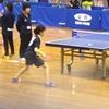 ゆり選手(21クラブ)の、令和元年度 全日本卓球選手権カデットの部