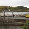 東急8590系8694F中間車廃車搬出。