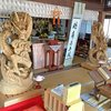 城所ケイジさんの龍神像とアマビエ