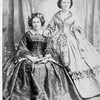 1860年代の西洋女性のファッション