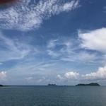タオ島に上陸しました。ここは島なので勿論船で!!