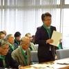 塩尻東山地区の管理型最終処分場計画についての県への申し入れに57人‼️
