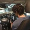 息子2、普通車免許取得後初運転