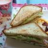 今日のごはん:5月6日のみはるごはんレシピ(タカキベーカリーのライ麦トーストでサンドイッチ!)