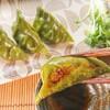 【栄養満点】ケールで作る緑色のモチモチ餃子の皮レシピ【作り置きにも】