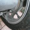 原付 タイヤが小さくて空気が入れにくい。