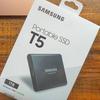 Samsungの外付けSSD T5をレビュー!育児記録の写真や動画のバックアップに購入しました