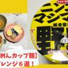 【野郎ラーメンカップ麺】ニンニクマシマシ野郎、ちょい足しアレンジ6選!