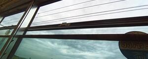 電車の窓を全開で走る爽快感、これは永久に続いてほしいなぁ