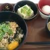 筋トレ中に食べたいすき家の鶏そぼろ丼健康セット