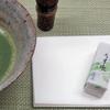 新潟銘菓「うす氷」(あめ友さん)と日々のお茶