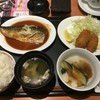 さばの味噌煮と牡蠣フライ膳(選べる小鉢つき) (@ デニーズ 北池袋店 - @dennys_pr in 豊島区, 東京都)