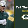 【NFL 名選手たち】パッカーズの元GMテッド・トンプソンさんが死去