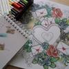 天使を色辞典色鉛筆で塗ってみた~の巻き