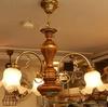 永年の人気定番 イタリア製3灯式シャンデリア