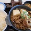 松屋 加古川野口町店で「お肉たっぷり牛鍋膳」を食べた感想・評価・レビュー