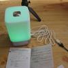 kr251 目覚めライト YABAE テーブルランプ 3段階調光 タッチセンサー式 1600色変換 Wake Up Light 24時表示 常夜灯 USB充電 【起きられない対策】 ホワイト