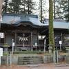 習焼神社の御柱