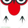 鳥の紋章。かなりのデフォルメですばい。