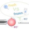 どんな精子を使う? 射出 v.s.精巣、新鮮 v.s 凍結融解