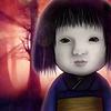 日本人形を育てている