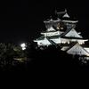 松下IMPビル裏から『夜の大阪城』