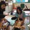 赤ちゃん計測会の出張活動