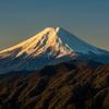 雪纏う富士三景、雁ヶ腹摺山・滝沢林道・二十曲峠より