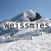 【スイスアルプス】 ヴァイスミース登山
