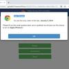マルウエアかも?!Chromeアニュアルユーザーアンケートに要注意!