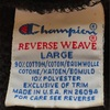 765 PART 7 Champion reverse weave BLACK l90's