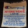 765 PART 7 Champion reverse weave BLACK l90's