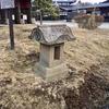 登別伊達時代村の水神祠と庚申塚