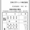 日本ピザハット株式会社 第5期決算公告