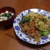 幸運な病のレシピ( 1045 )昼:春キャベツ炒