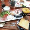 ナチュラルキッチンとポケットマルシェの器で朝食ワンプレート♪