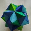 折り紙のくす玉、30枚 やり直し