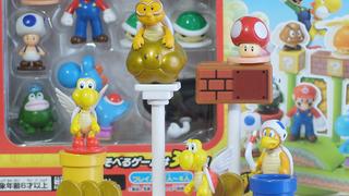 【カプセルトイ】スーパーマリオのフィギュア「スーパーマリオ ひろがるマリオワールド」を回してきた!
