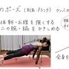 ヨガノート(9)板のポーズ(プランク Plank)体幹と二の腕を引き締める - テキストPDF印刷OK!
