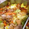 豚バラ肉とキャベツの柚味噌炒め