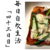 【貧乏飯】毎日自炊生活「四十三日目」~誰でも簡単ピザ風トースト~