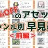 【MADNESS SALE】「50%OFFのアセットまとめ」全100アセットを「ジャンル別」に分類したカタログ記事(前編) Vol.10