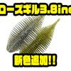 【GEECRACK】秋のバス釣りで縦ストのフォールでバイトが多いというワーム「ベローズギル3.8inch」に新色追加!