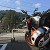 390DUKEとヘルメット(Arai編)