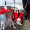 ちちんぷいぷいで浜坂高校の紹介 たむけんさんが麒麟獅子舞サークルをレポート